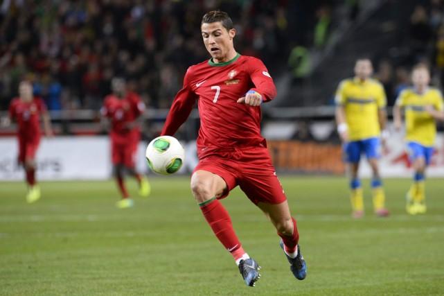 Cristiano Ronaldo a dominé la planète soccer en... (Photo Jonathan Nackstrand, archives AFP)