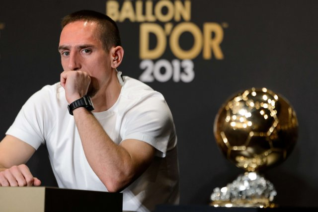 Franck Ribéry... (Photo Fabrice Coffrini, AFP)