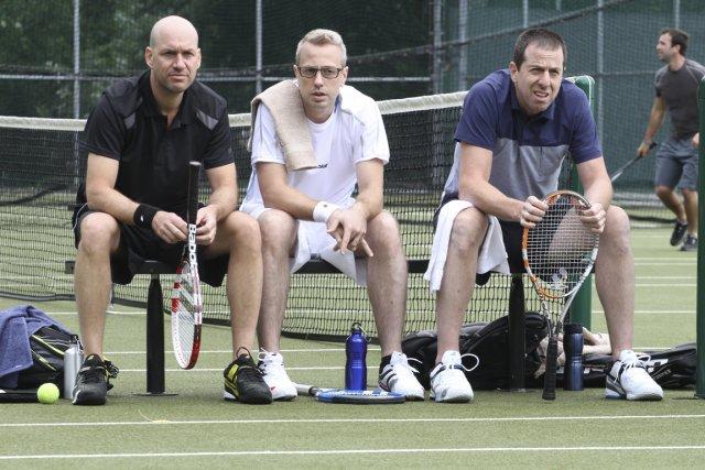 Patrick (Patrice Robitaille, à droite sur la photo),... (Photo Bernard Calmeau)