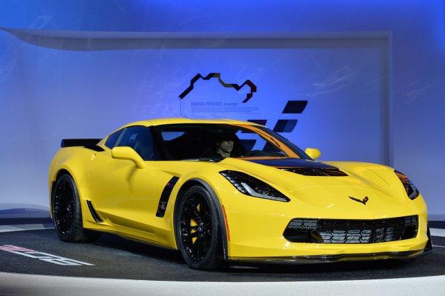 La nouvelle Chevrolet Corvette Z06 de 625 chevaux.... (Photo Stan HONDA, AFP)
