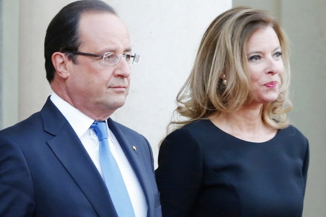 La situation inédite de Valérie Trierweiler, non mariée... (PHOTO JACQUES BRINON, ARCHIVES AP)