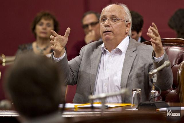 L'ex-président de la Centrale des syndicats du Québec... (PHOTO OLIVIER JEAN, LA PRESSE)