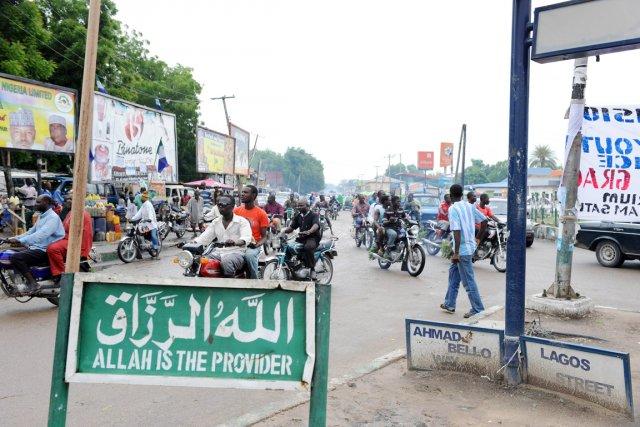 Maiduguri, comme la plupart des villes du nord,... (PHOTO  PIUS UTOMI EKPEI, ARCHIVES AFP)