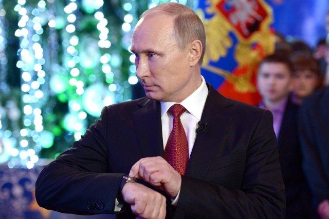 Vladimir Poutine a promulgué en juin une loi... (PHOTO ALEKSEY NIKOLSKY, ARCHIVES AFP/RIA NOVOSTI)