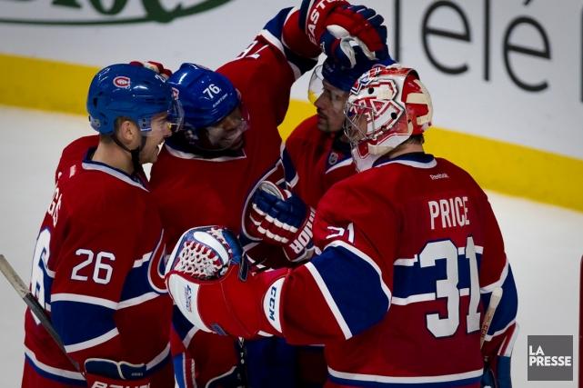 Le Canadien a remporté ses deux premiers matchs... (Photo André Pichette, La Presse)