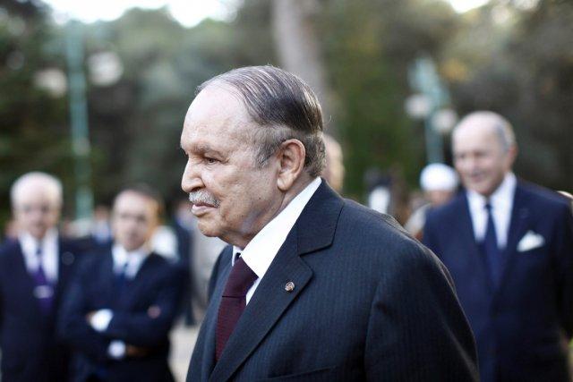 Le président Bouteflika, au pouvoir depuis 1999, achève... (PHOTO DENIS ALLARD, ARCHIVES AFP)