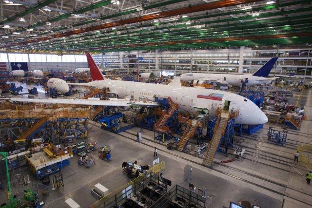 Le 787, dernier-né de Boeing, accumule les incidents... (PHOTO RANDALL HILL, REUTERS)
