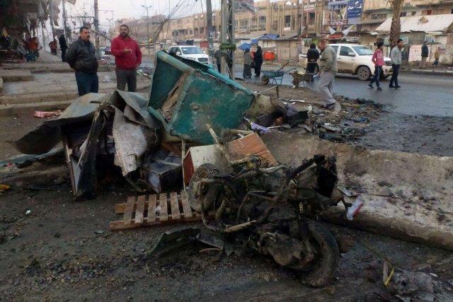 Les violences en Irak ont déjà fait près... (Photo AHMAD AL-RUBAYE, AFP)