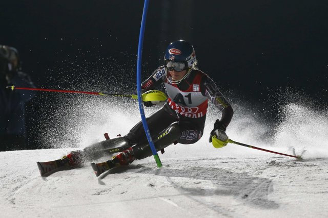 Mikaela Shiffrin... (Photo Dominic Ebenbichler, Reuters)