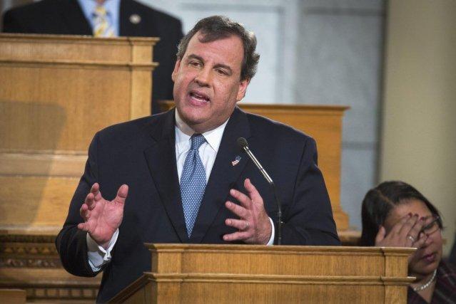 Le gouverneur du New Jersey Chris Christie durant... (Photo LUCAS JACKSON, Reuters)