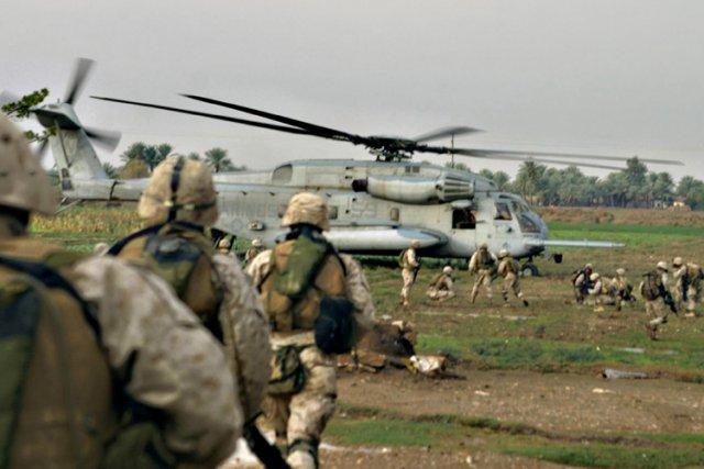 Les derniers soldats américains ont quitté l'Irak fin 2011, mais l'autorisation... (Photo: AFP)