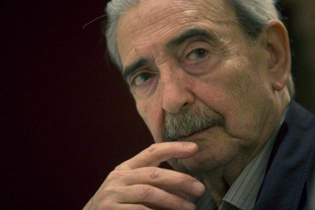 Le poète Juan Gelman, en 2008.... (Photo TOMAS BRAVO, Reuters)