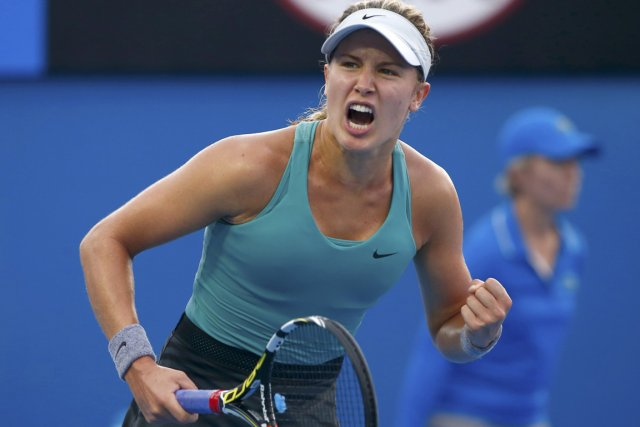 Eugenie Bouchard disputera un match de troisième tour... (Photo Petar Kujundzic, Reuters)