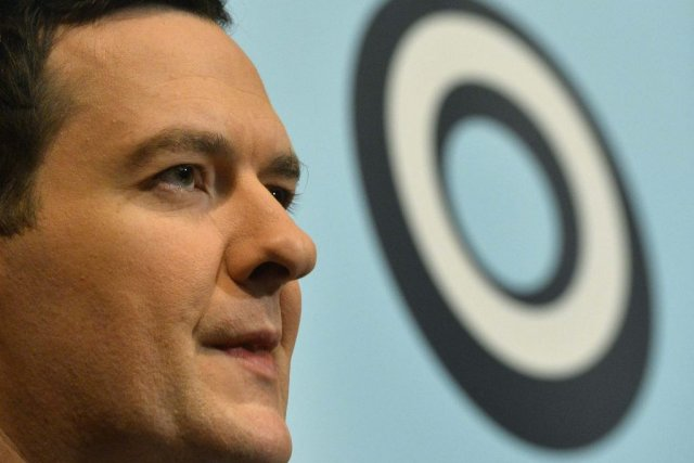Le ministre britannique des Finances, George Osborne.... (Photo Reuters)