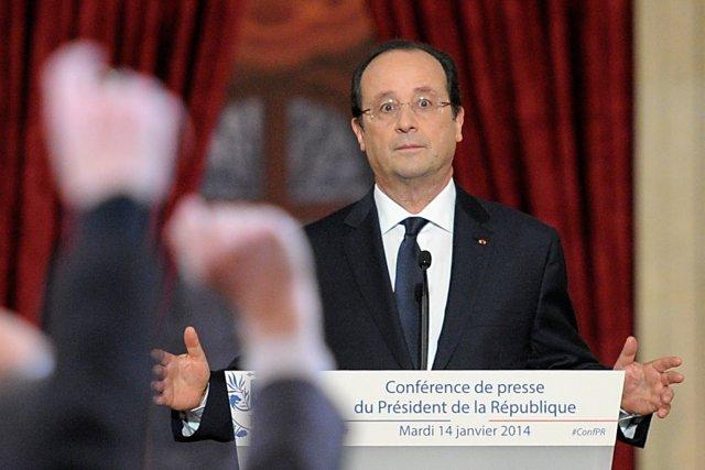 Le président français, François Hollande, a refusé de... (Photo: AFP)