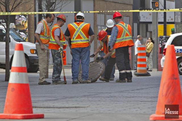 La Ville de Montréal pourrait économiser 12 millions par année simplement en... (PHOTO PATRICK SANSFAÇON, ARCHIVES LA PRESSE)