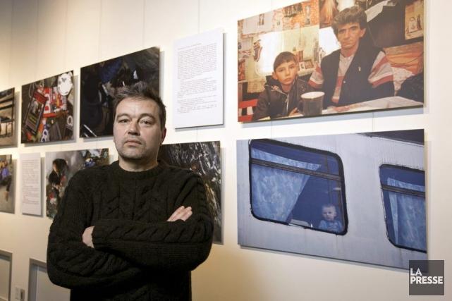 Le photographe Paul-Antoine Pichard est allé à la... (Photo: Hugo-Sébastien Aubert, La Presse)