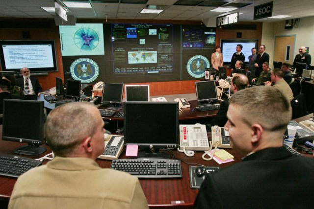 Le centre d'analyse des menaces de la NSA,... (PHOTO PAUL J. RICHARDS, ARCHIVES AFP)