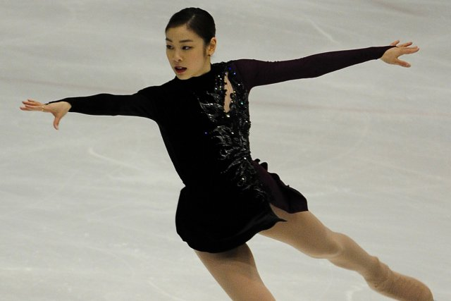 Yu-Na Kim... (Photo Song Kyung-seok, AP)