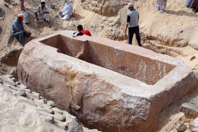 Début janvier, l'Égypte avait annoncé que l'équipe de... (PHOTO AFP)