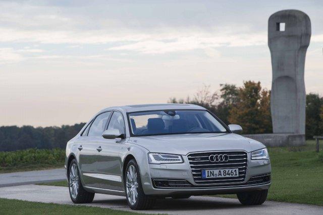 Les nouveaux phares de la Audi A8 ne... (Photo fournie par Audi)