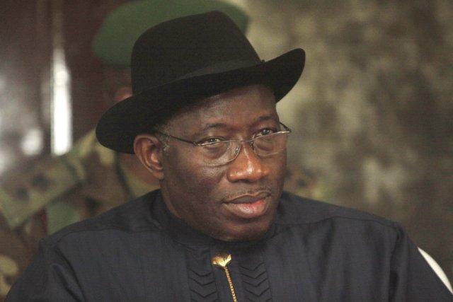 Le président nigérian Goodluck Jonathan a promulgué lundi... (PHOTO SUNDAY ALAMBA, ARCHIVES AP)