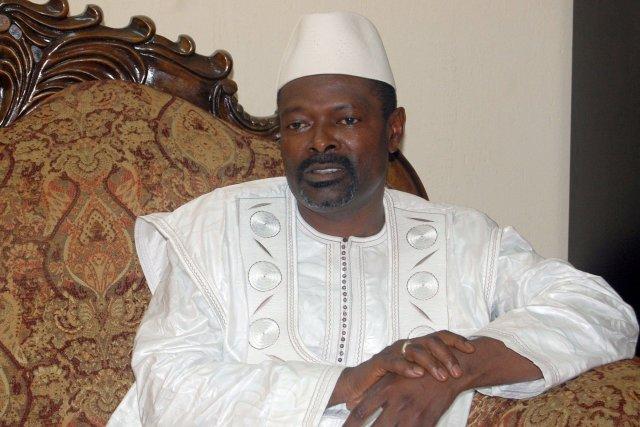 Le premier ministre guinéen Mohamed Saïd Fofanaoccupait ses... (Photo CELLOU diallo, AFP)