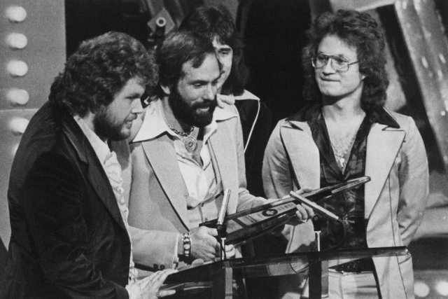 Les membres du groupe Bachman-Turner Overdrive aux Juno... (Photo: archives La Presse Canadienne)
