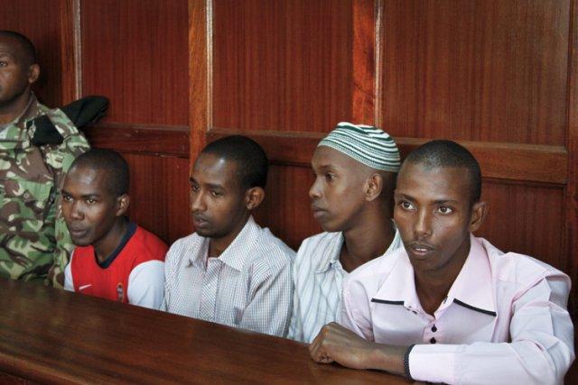 De gauche à droite : Hussein Hassan Mustafah,... (Photo: AP)