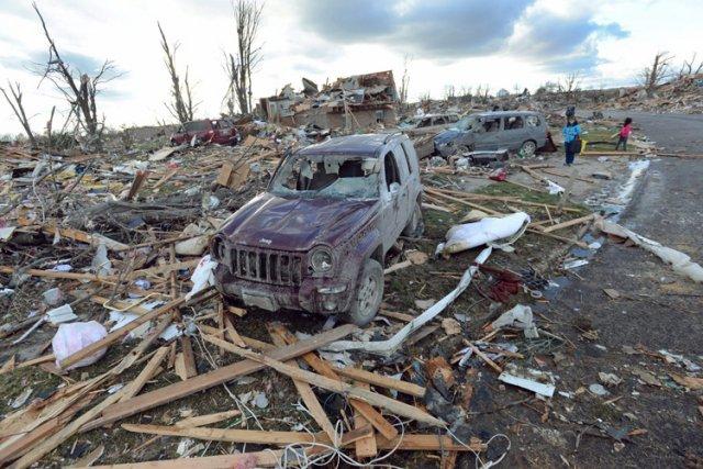 Les événements météorologiques les plus coûteux ont été... (Photo: AP)