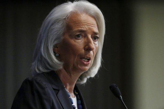 Dans un discours à Washington, ChristineLagarde a estimé... (PHOTO GARY CAMERON, REUTERS)