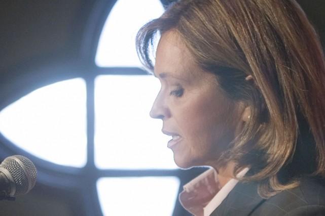 La sénatrice Josée Verner... (La Presse Canadienne)