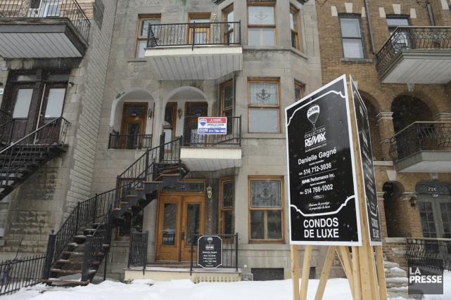 Deux thèses s'affrontent à propos de l'immobilier canadien.... (Photo Martin Chamberland, Archives La Presse)