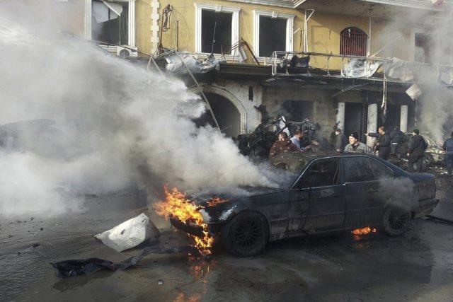 C'est la première fois qu'un attentat à la... (PHOTO RAMI BLEIBEL, REUTERS)