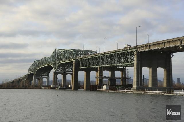 Le pont Champlain.... (PHOTO MARTIN CHAMBERLAND, ARCHIVES LA PRESSE)