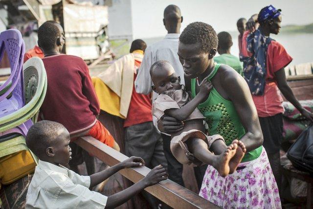 Selon l'ONU plus de 400000 Sud-Soudanais ont été... (PHOTO NICHOLE SOBECKI, AFP)