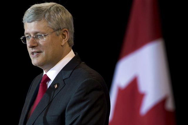 Le premier ministre Stephen Harper a fait savoir... (Photo Andrew Vaughan, La Presse Canadienne)