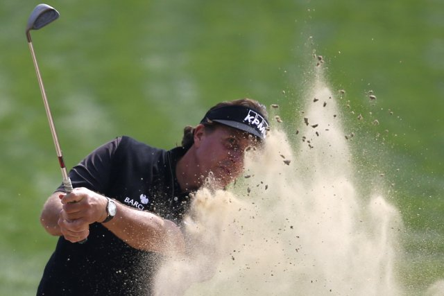 Phil Mickelson... (Photo Ahmed Jadallah, Reuters)