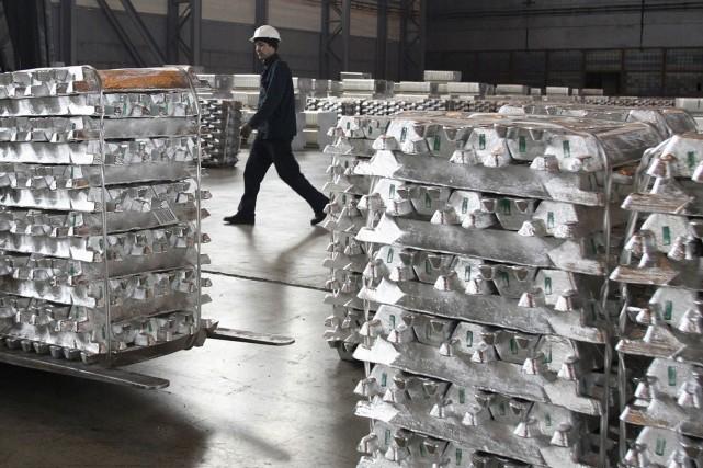 La demande d'aluminium augmenterait de 5% par année.... (PHOTO REUTERS)