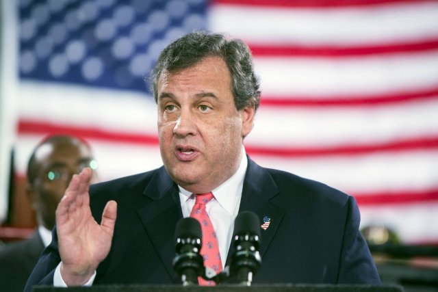 Le gouverneur du New Jersey Chris Christie.... (Photo LUCAS JACKSON, Reuters)
