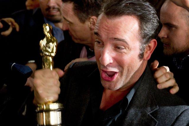 Jean Dujardin... (PHOTO MARTIN BUREAU, ARCHIVES AFP)
