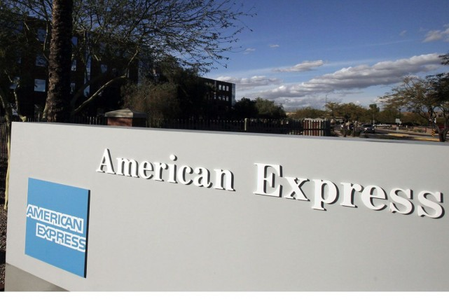 Un bureau d'American Express à Phoenix en Arizona.... (Photo Ross D. Franklin, AP)