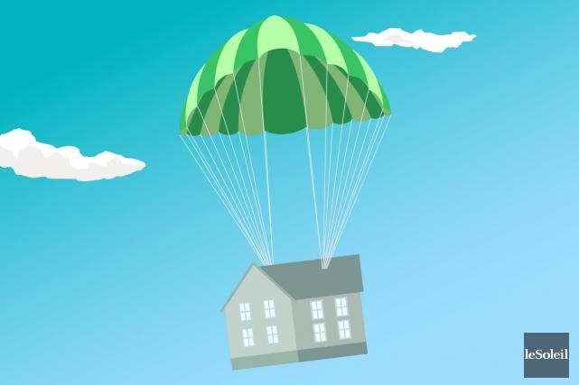 Le marché immobilier est certes déprimé au Québec, mais on est loin d'un... (Infographie Le Soleil)
