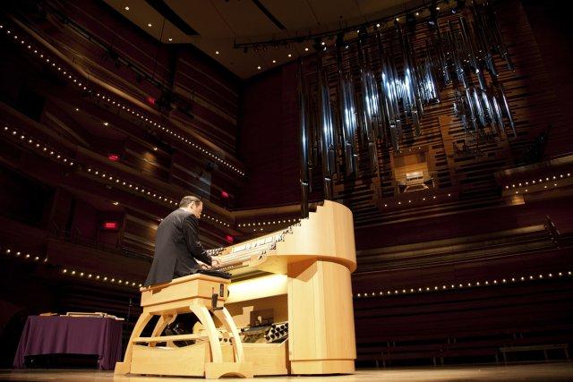 Le «résultat recherché», a dit Olivier Latry, organiste... (Photo fournier par l'OSM)