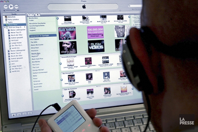 Les ventes de musique ont chuté de 8% au Québec et aux États-Unis en 2013,... (Photo: archives AP)