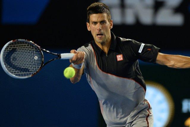 Novak Djokovic est en quête d'un quatrième titre... (Photo Saeed Khan, AFP)
