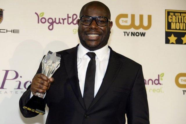 Le réalisateur Steve McQueen a remporté le trophée... (Photo: Reuters)