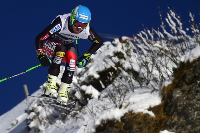 Ted Ligety... (Photo Olivier Morin, AFP)