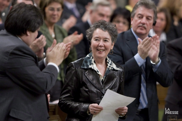 Francine Lalonde en 2009.... (PHOTO ADRIAN WYLD, ARCHIVES LA PRESSE CANADIENNE)