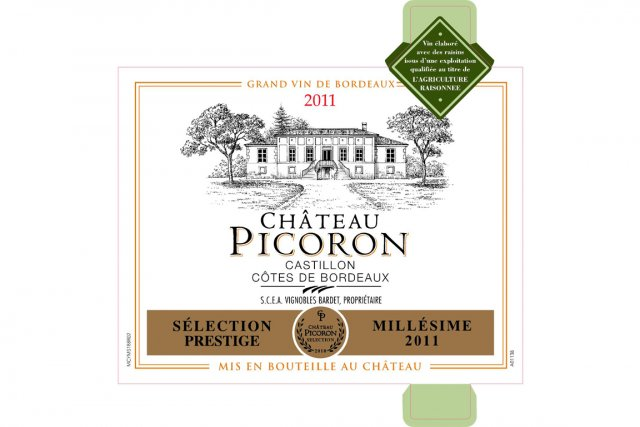 Château Picoron2011, 20,45$ (11133263)...